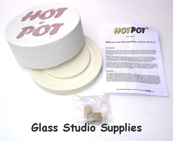 Hotpot Maxi Microwave Kiln - Glass Studio Supplies