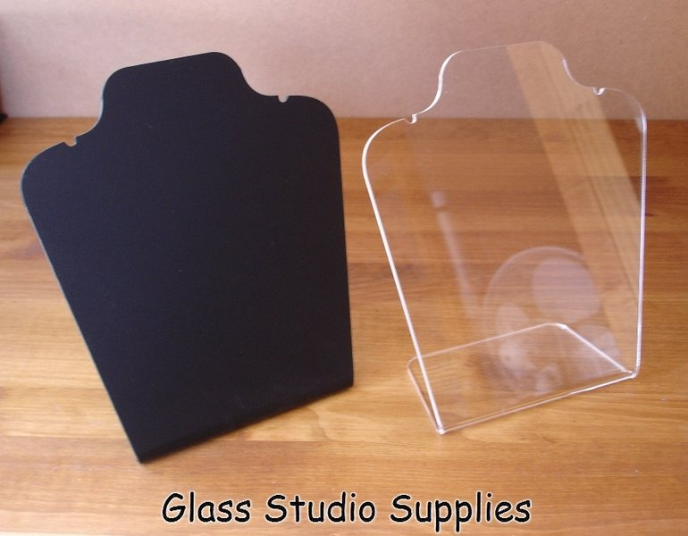 Large Acrylic Necklace Display Stand Glass Studio Supplies Inspiration Bracelets Display Stands