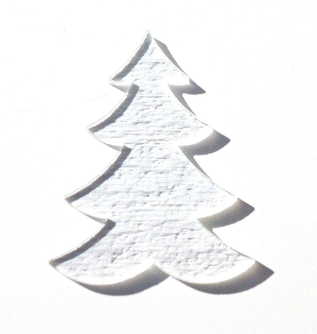 Pre cut Clear Tekta Xmas Tree - Glass Studio Supplies