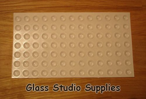 Rubber Coaster Feet for Fused or Stained Glass Bumpons