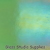 3mm Glass - Light Green Transparent Irid (1107-31)