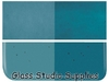 2mm Glass - Thin Aquamarine Blue Transparent (1108-50)