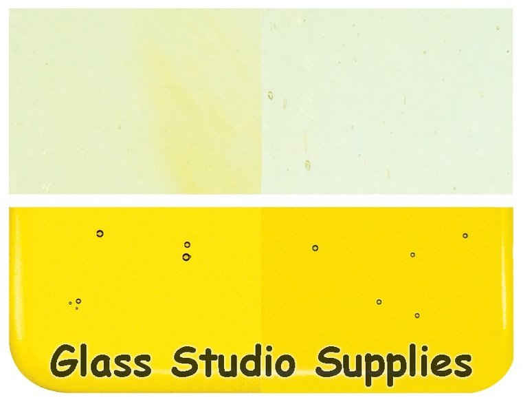 2mm Glass - Thin Yellow Transparent (1120-50)
