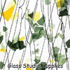 Summer: Green and Yellow on Clear Collage Glass (4112-00)