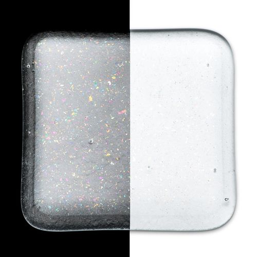 Frit - Clear Transparent Iridescent Rainbow (1101-RN)