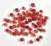 Bullseye Chopped Cane Pieces - Ragged Red Rose - 25g